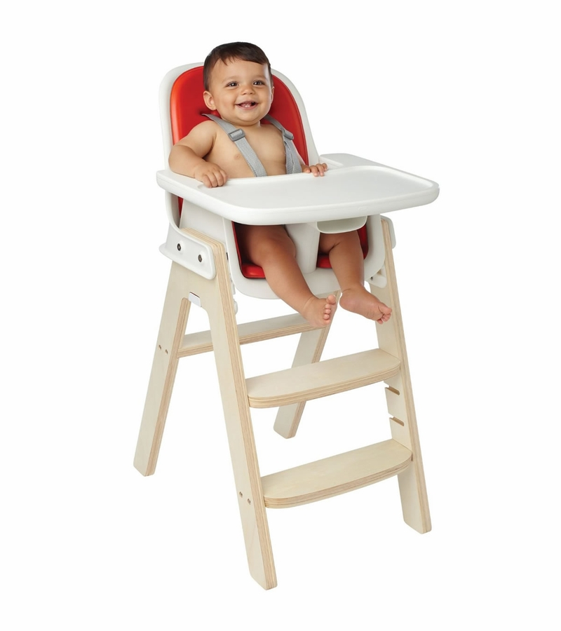 Oxo tot sprout high chair orange birch for Toddler sitting chair