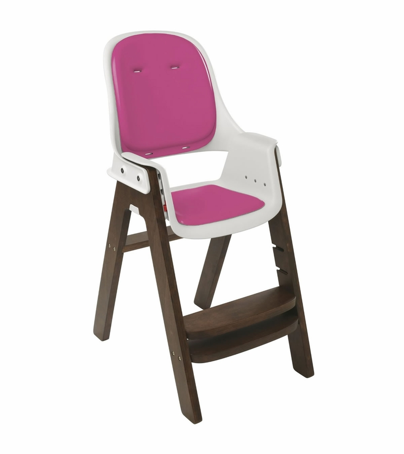 oxo tot sprout high chair pink walnut. Black Bedroom Furniture Sets. Home Design Ideas