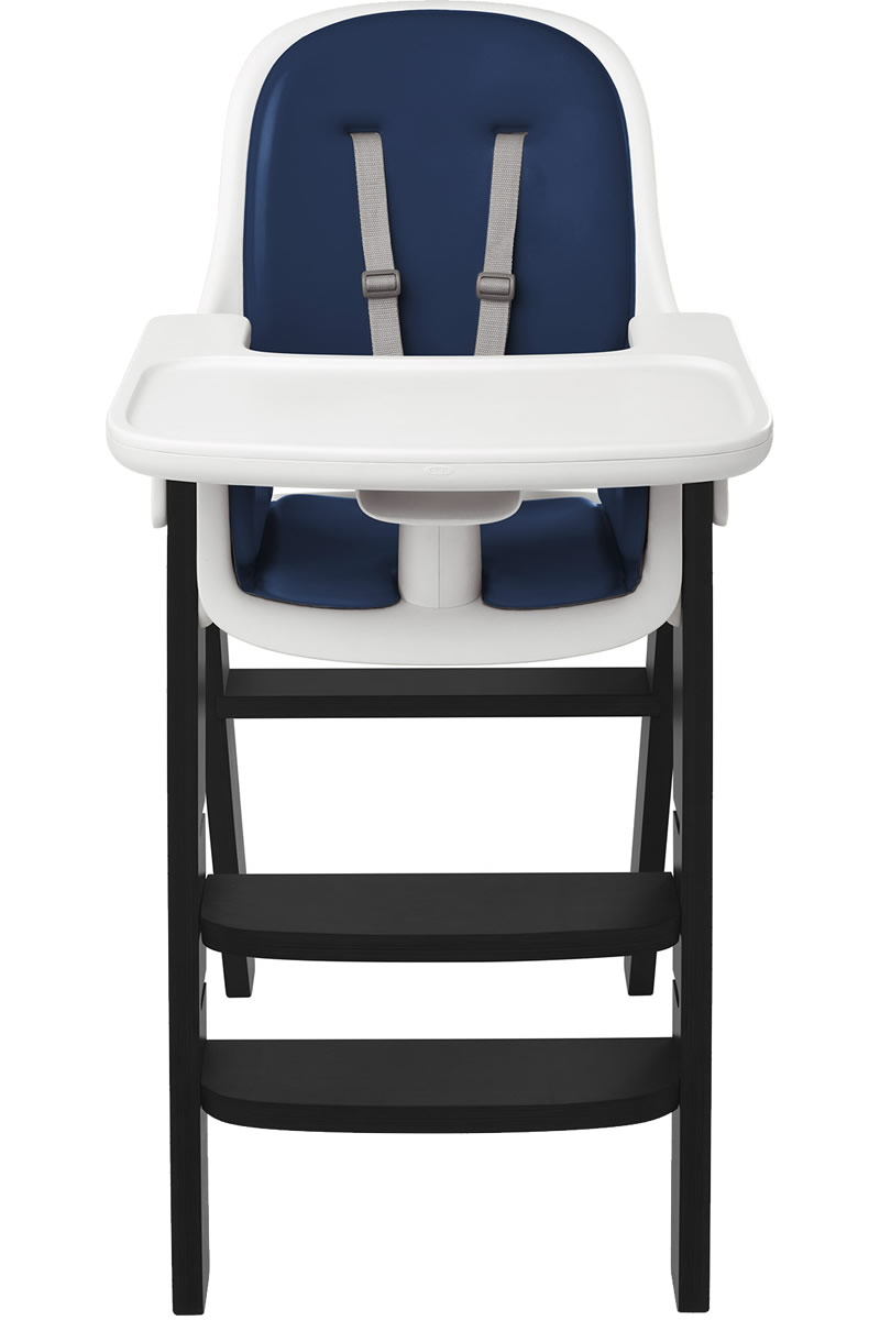 Oxo Tot Sprout High Chair - Navy / Black