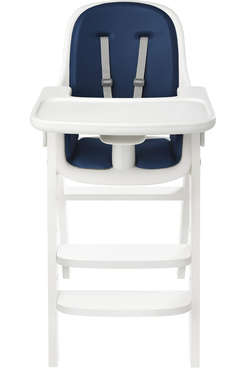 Oxo Tot Sprout High Chair - Navy / White