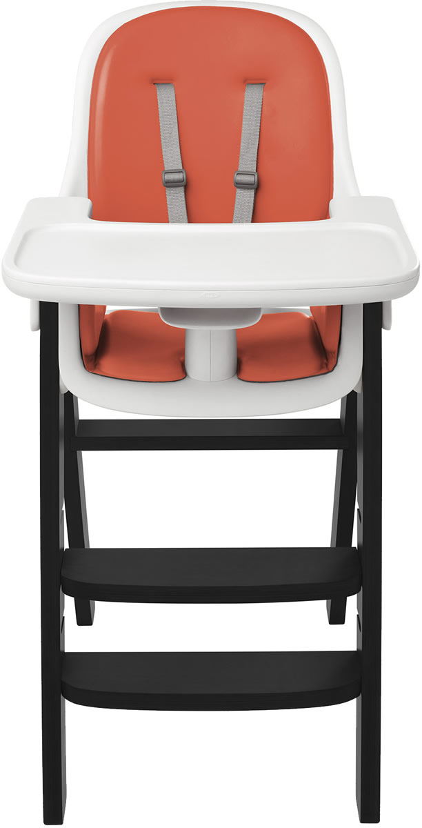 Oxo Tot Sprout High Chair - Orange / Black