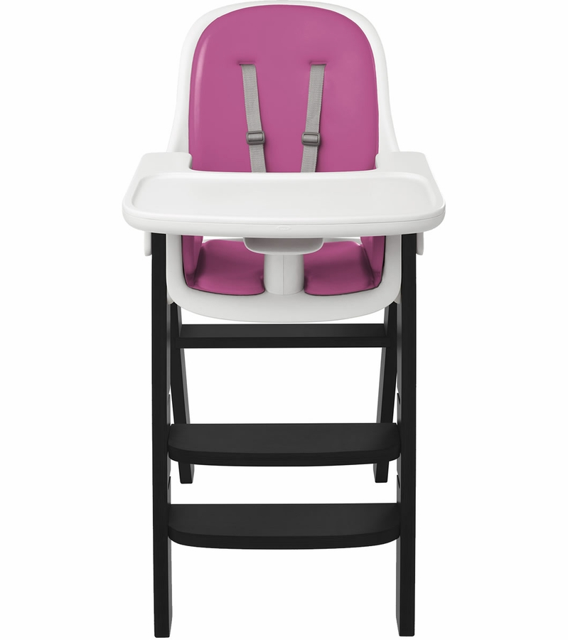Oxo Tot Sprout High Chair Pink Black