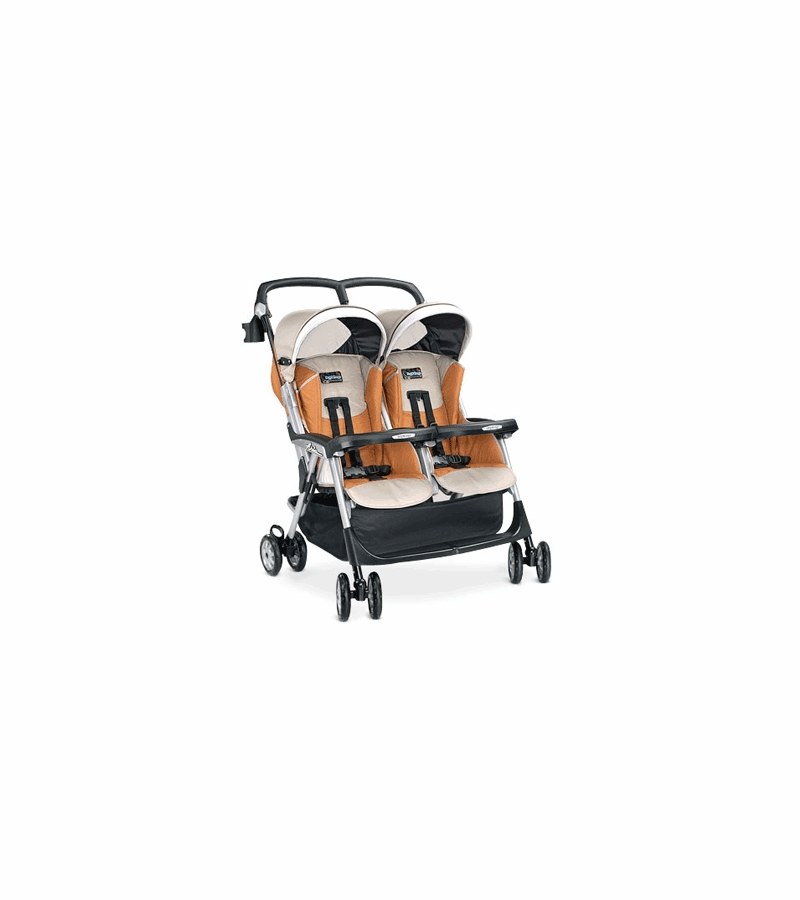 peg perego 2006 twin aria stroller in ambra fabric. Black Bedroom Furniture Sets. Home Design Ideas