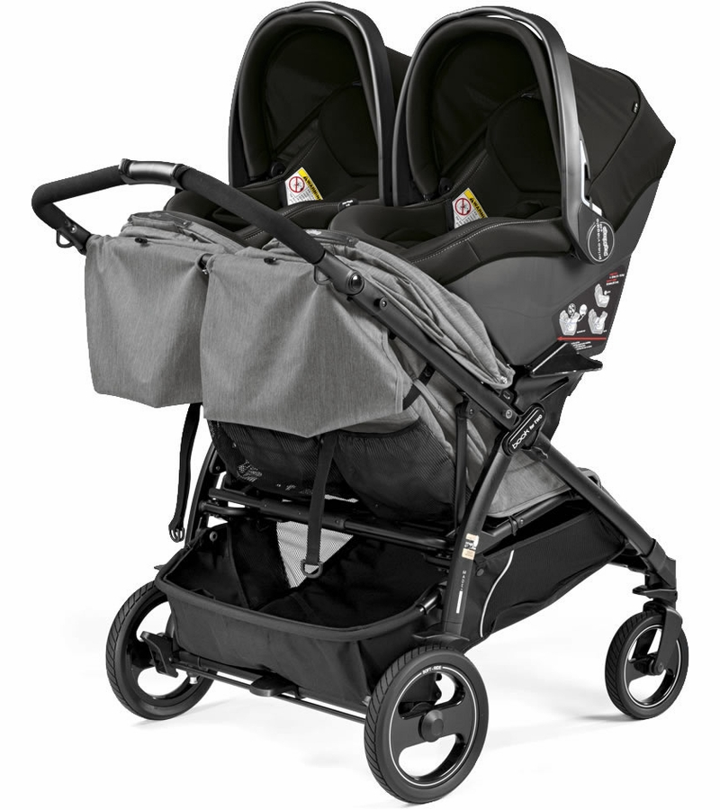 peg perego book for two double stroller mod red. Black Bedroom Furniture Sets. Home Design Ideas