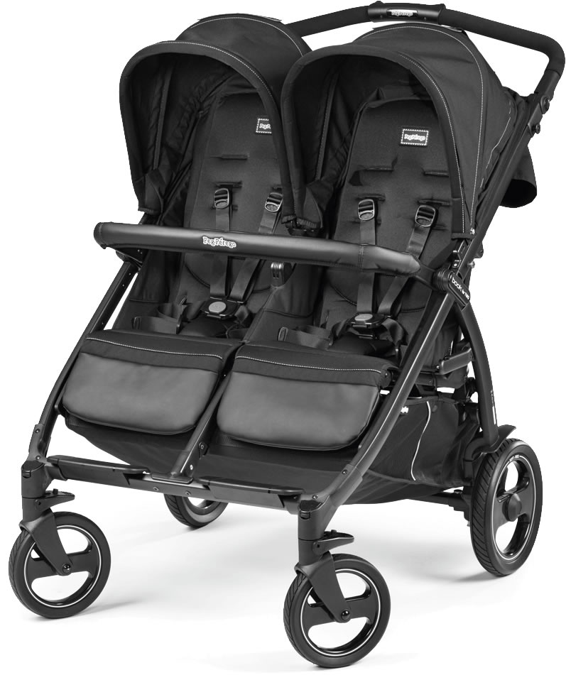 Peg-Perego Book for Two Double Stroller - Onyx