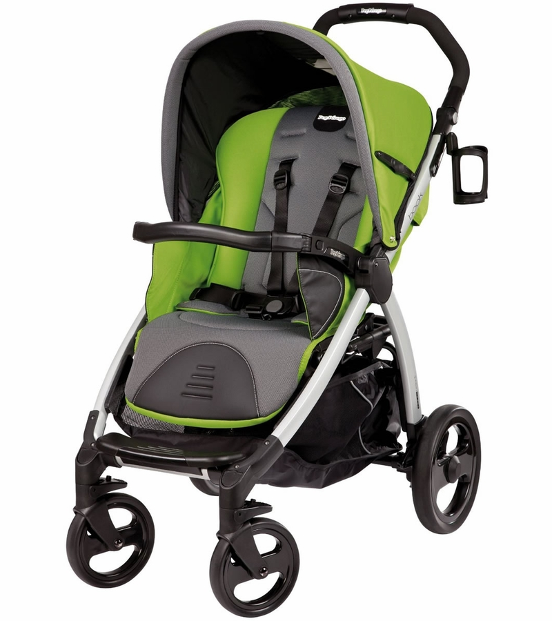 Peg Perego Book Stroller In Mentha Green