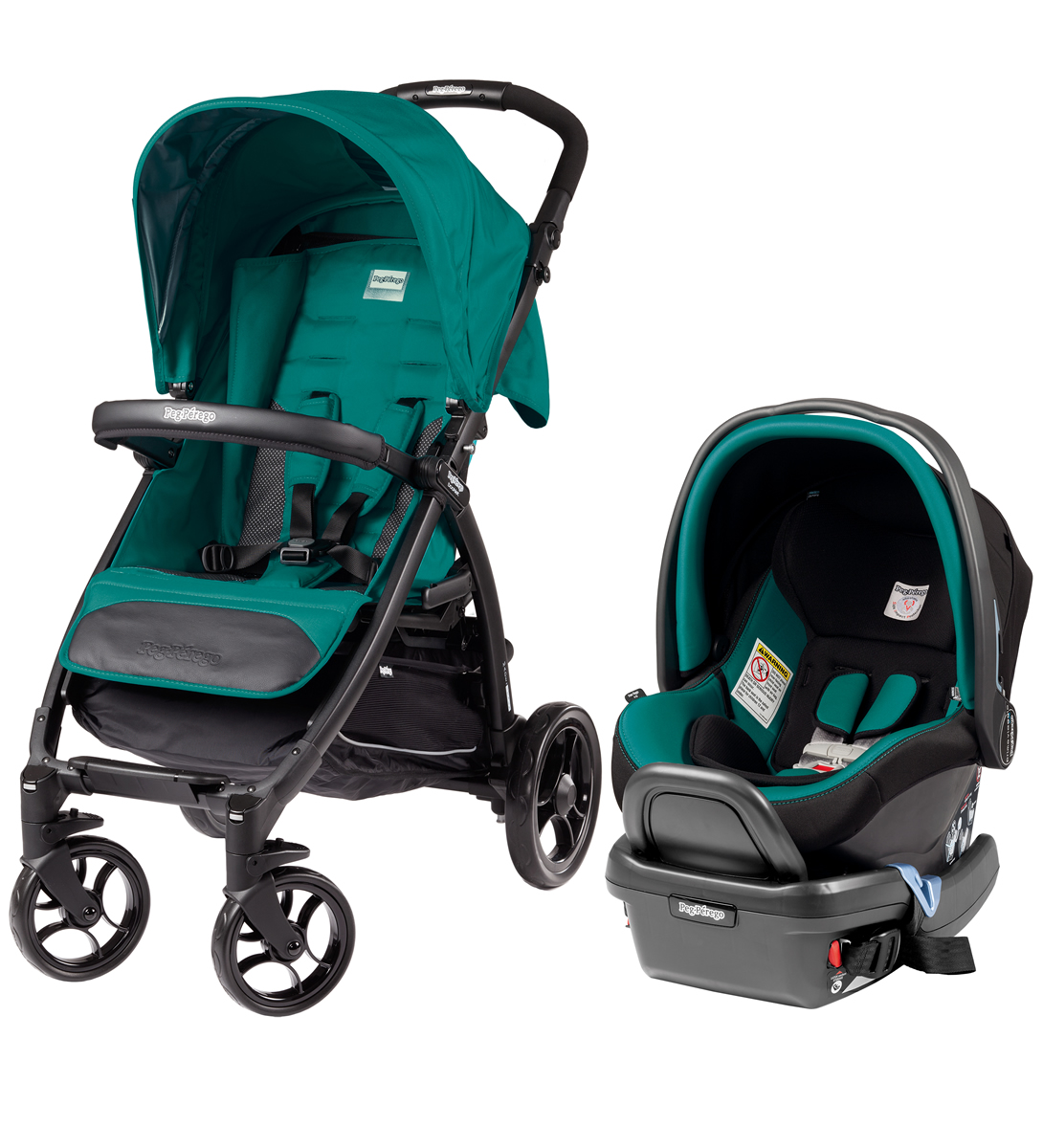 Peg-Perego Booklet Travel System - Aquamarine