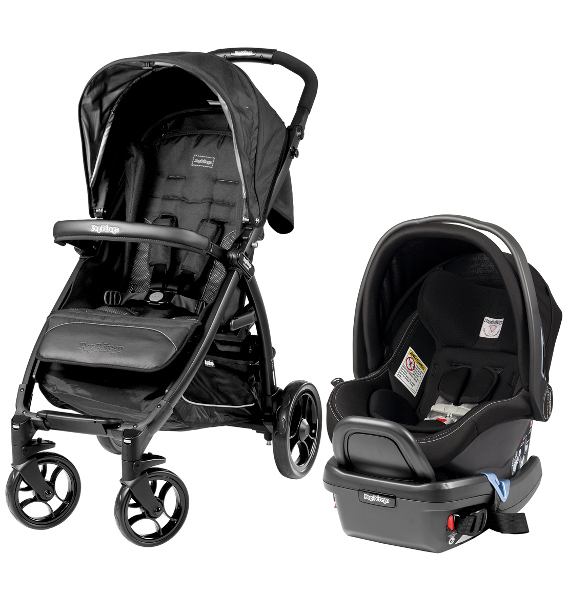 Peg-Perego Booklet Travel System - Onyx