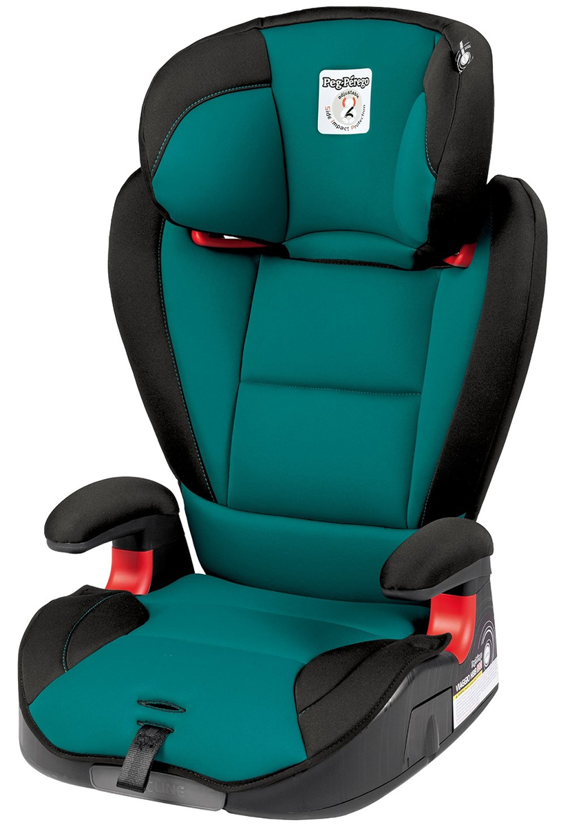 Peg-Perego HBB 120 High Back Booster Car Seat - Aquamarine