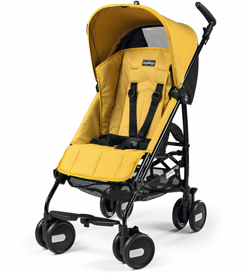 peg perego pliko mini classico stroller mod yellow. Black Bedroom Furniture Sets. Home Design Ideas