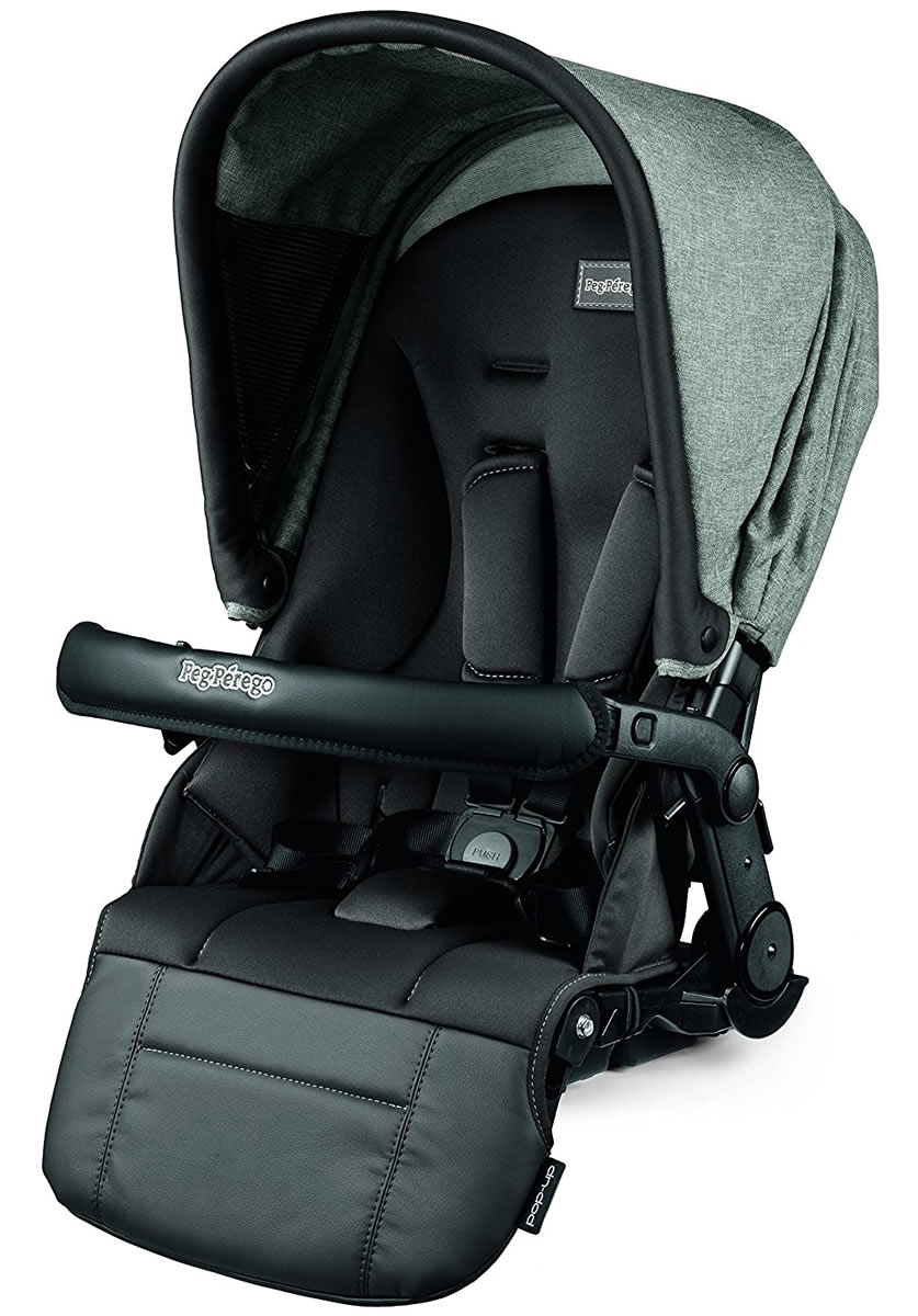 Peg-Perego Pop-Up Seat for Team, Duette and Triplette Strollers, Atmosphere