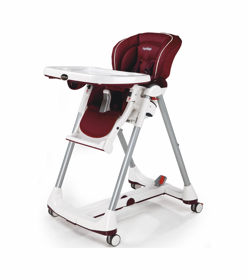 Peg perego prima pappa best high chair bordeaux - Coussin chaise haute peg perego prima pappa ...