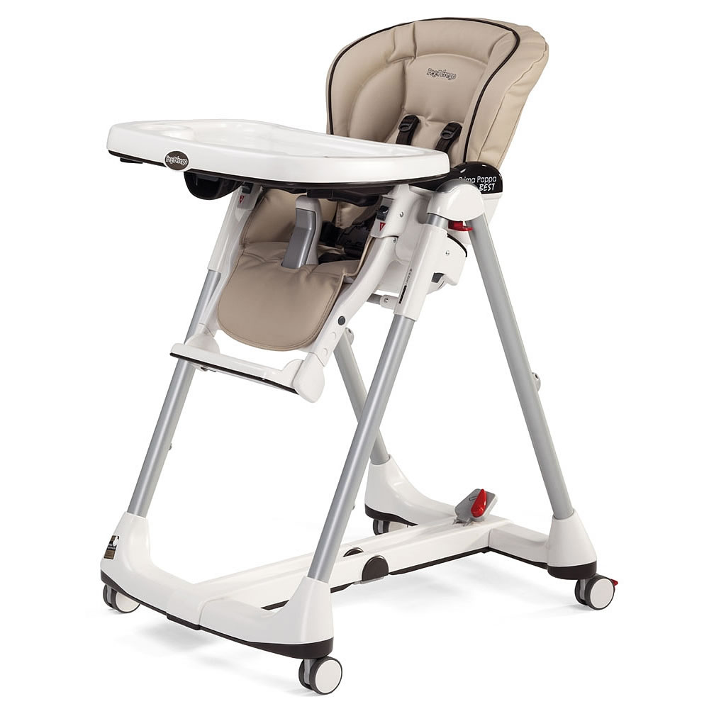 Peg perego prima pappa best high chair in cappuccino for Chaise haute prima pappa peg perego