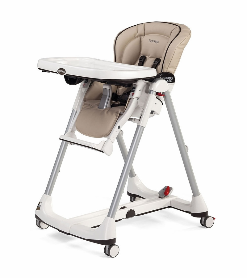Peg perego prima pappa best high chair in cappuccino for Housse chaise haute peg perego prima pappa diner