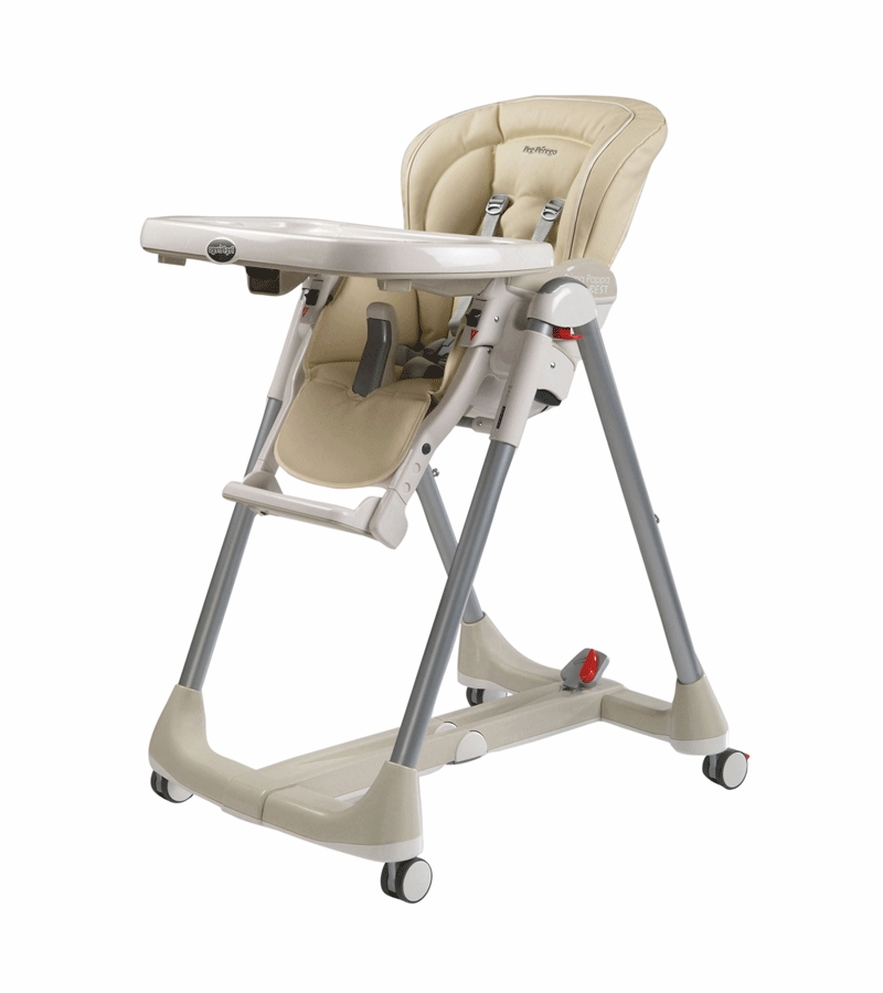 Peg perego prima pappa best high chair in paloma - Harnais chaise haute prima pappa ...