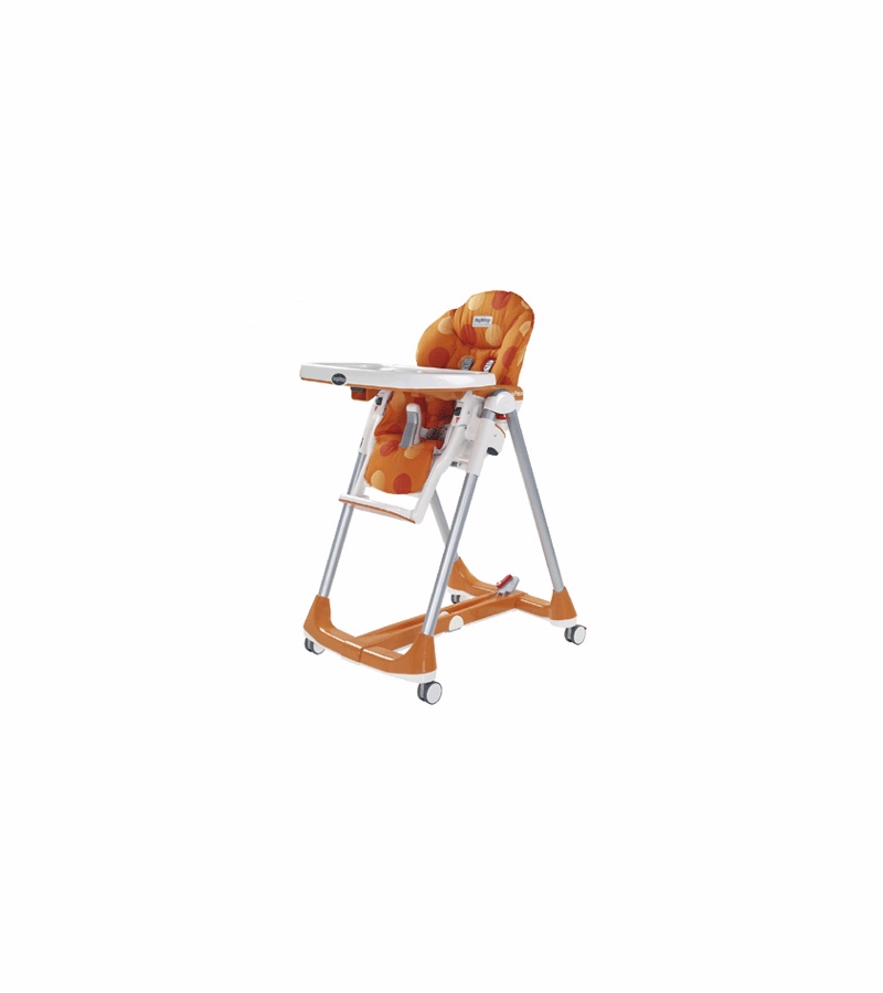 Peg Perego Prima Pappa Diner High Chair 2007 Revi Orange