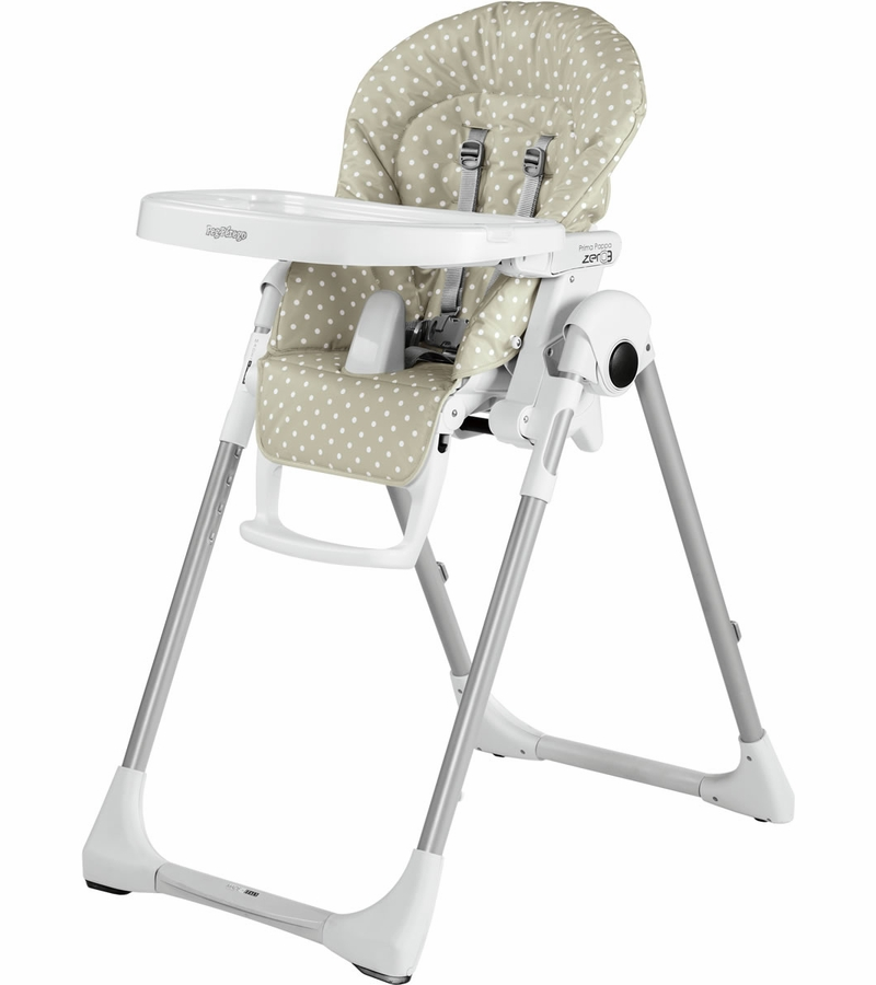 Peg perego prima pappa zero 3 high chair baby dot beige for Housse de chaise peg perego prima pappa