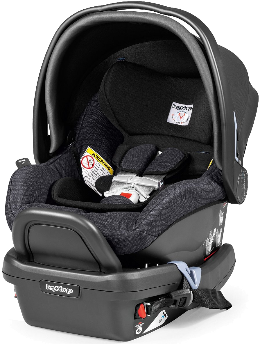 Peg-Perego Primo Viaggio 4-35 Infant Car Seat - Circles Grey