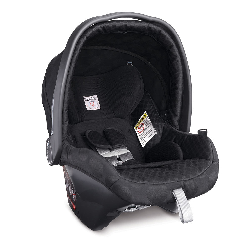 peg perego primo viaggio 4 35 infant car seat pois black. Black Bedroom Furniture Sets. Home Design Ideas