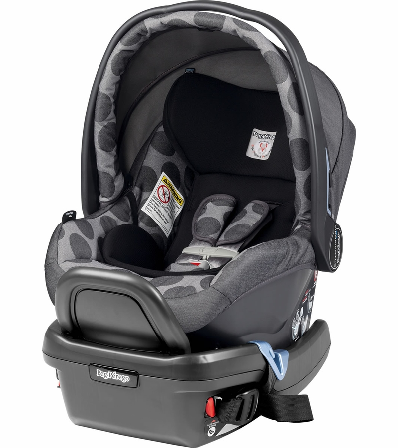 peg perego primo viaggio 4 35 infant car seat pois grey. Black Bedroom Furniture Sets. Home Design Ideas