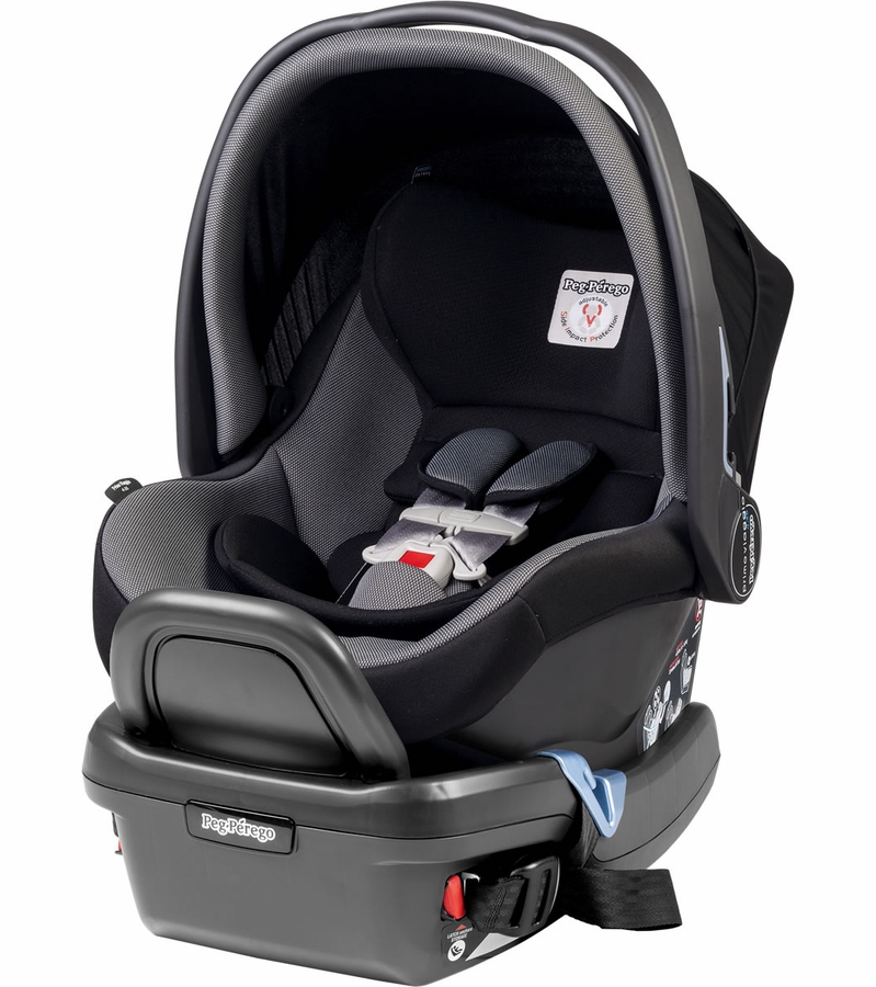 peg perego primo viaggio 4 35 infant car seat stone black. Black Bedroom Furniture Sets. Home Design Ideas