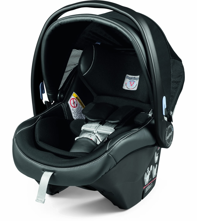 how to connect peg perego car seat to stroller