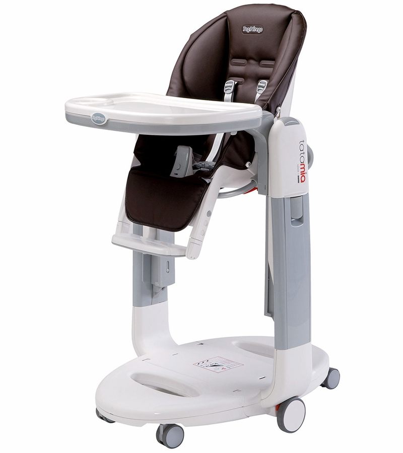 Peg perego tatamia 3 in 1 highchair in cacao for Chaise haute peg perego
