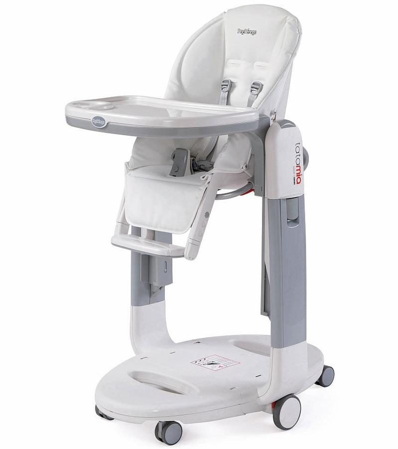 Peg perego tatamia 3 in 1 highchair in latte for Chaise haute peg perego