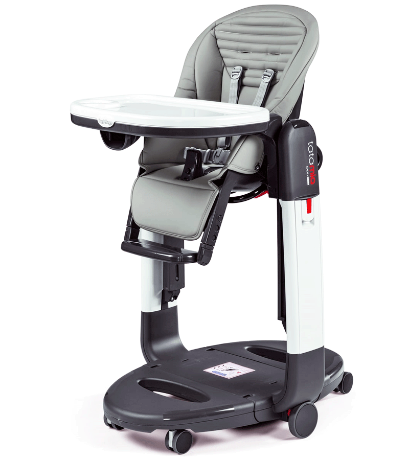 Peg-Perego Tatamia 3-in-1 Highchair in Stripes Grey