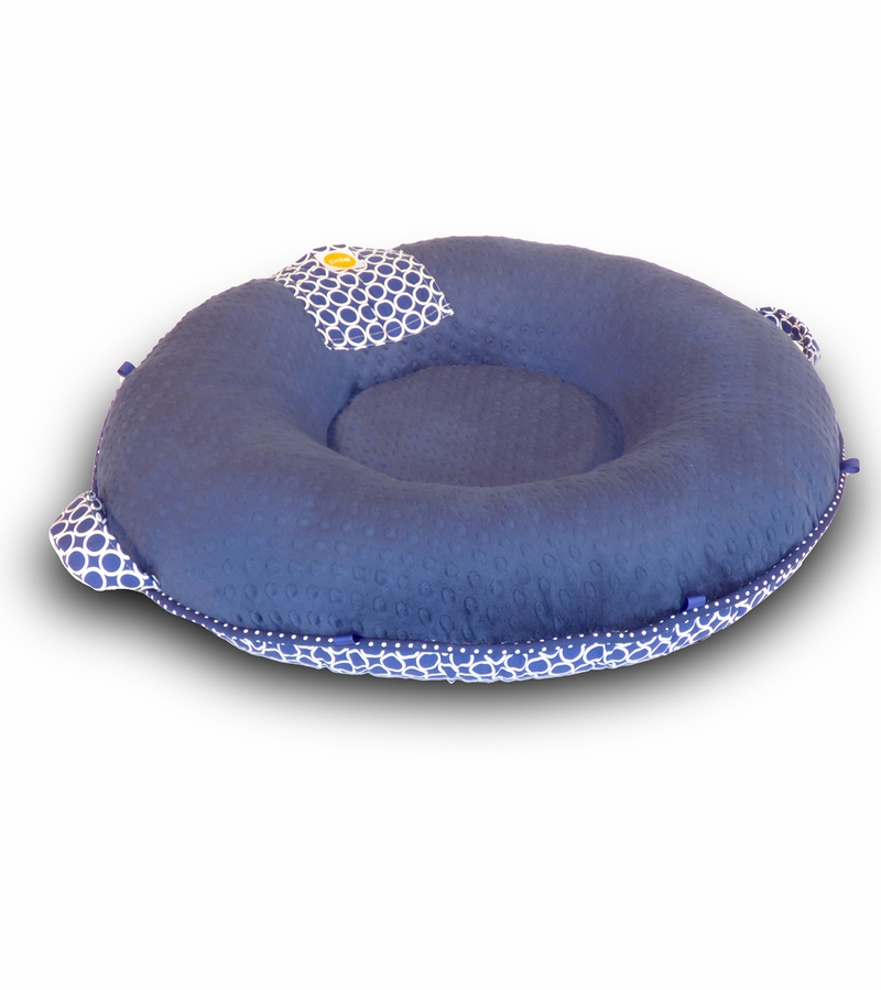 Pello Floor Pillow - Nathan Navy