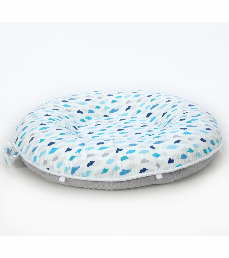 Pello Floor Pillow - Skylar/Gray