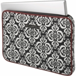 Petunia Pickle Bottom Carried Away Laptop Case in Frolicking in Fez