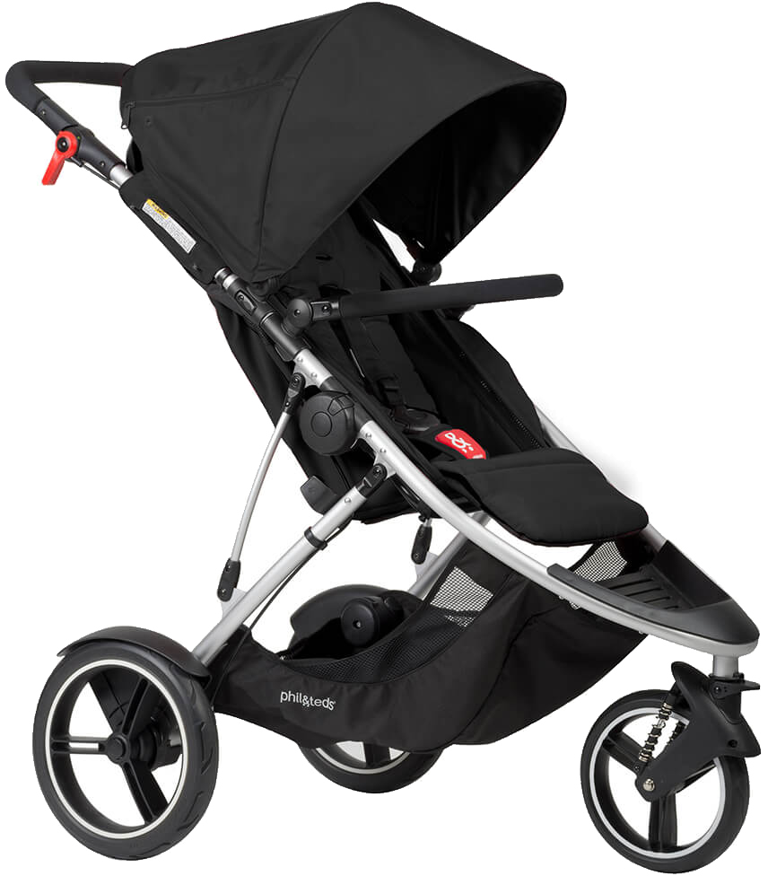 Phil & Teds Dash Stroller - Black