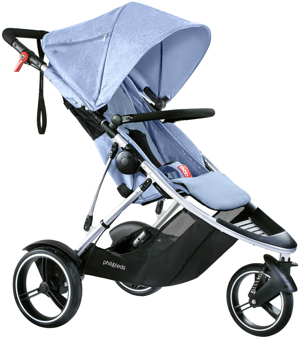 Phil & Teds Dash Stroller - Blue