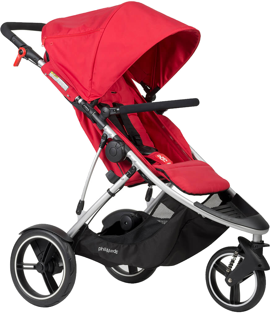 Phil & Teds Dash Stroller - Red