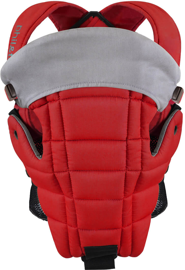 Phil & Teds Emotion Baby Carrier - Scarlet