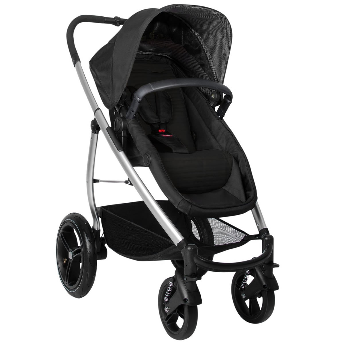 Phil & Teds Smart Lux Stroller - Black