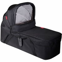 Phil & Teds Snug Carrycot in Black