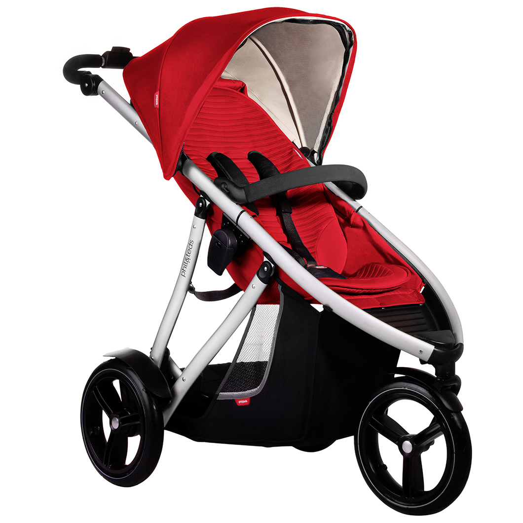 Phil & Teds Vibe Buggy - Cherry