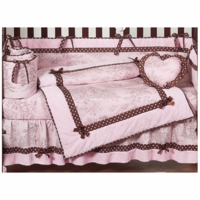 Pink & Brown Toile Collection
