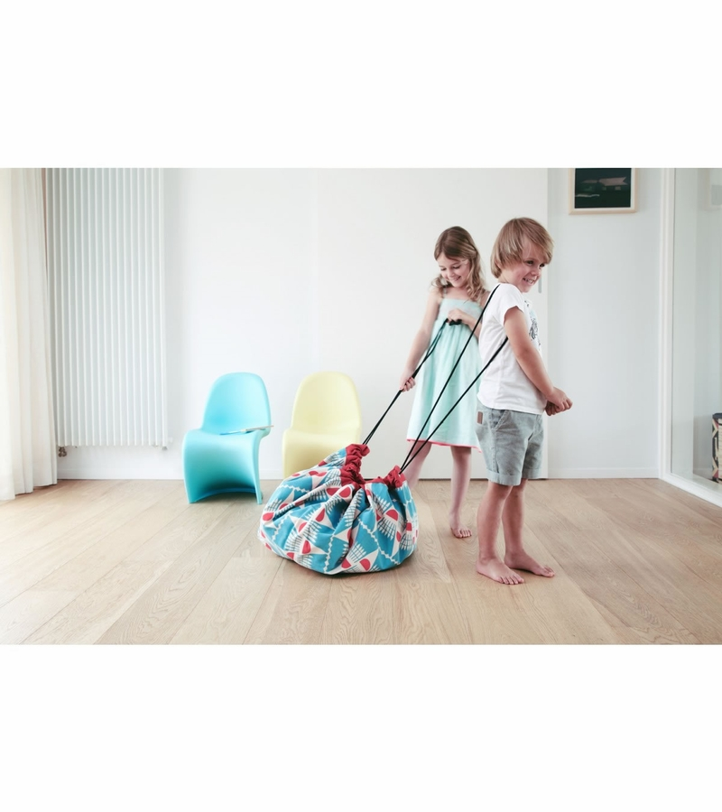 play go toy storage bag badminton. Black Bedroom Furniture Sets. Home Design Ideas