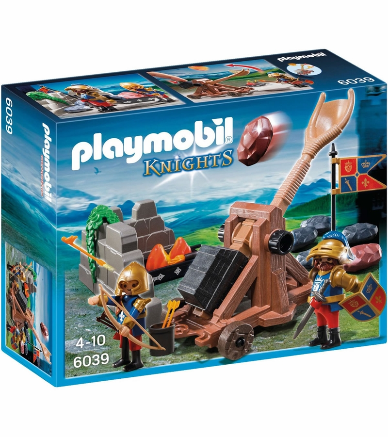 playmobil royal lion knights 39 catapult. Black Bedroom Furniture Sets. Home Design Ideas