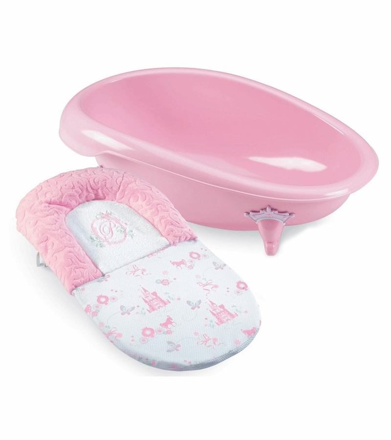 pretty as a princess baby bath tub by summer infant. Black Bedroom Furniture Sets. Home Design Ideas