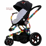 Quinny Britto Moodd Stroller (Chassis Only)