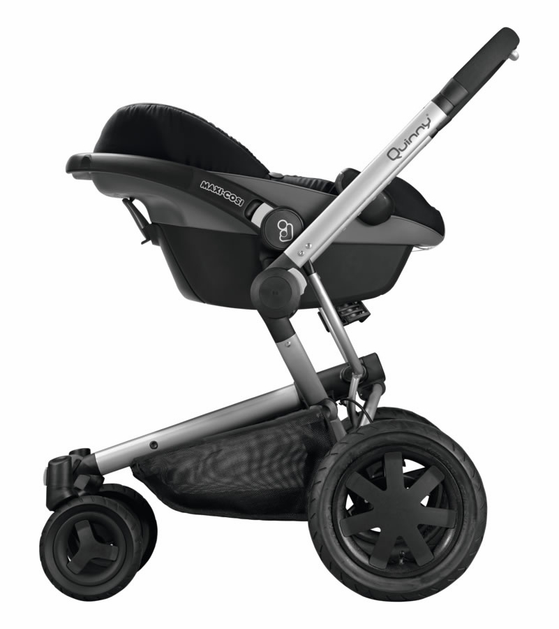 Quinny Buzz Xtra + Maxi-Cosi Mico AP Travel System - Rocking Black