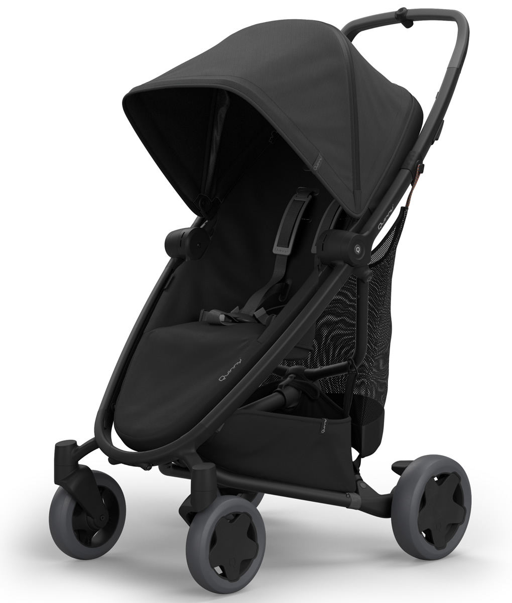 QUINNY Zapp Flex Plus Stroller - Black on Black