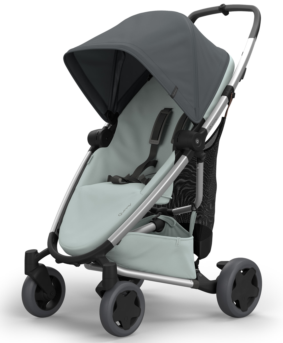 QUINNY Zapp Flex Plus Stroller - Graphite on Grey
