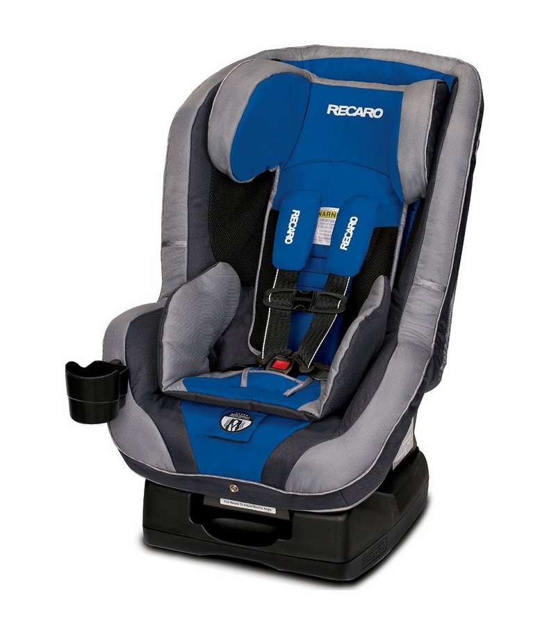 recaro performance ride convertible car seat sapphire