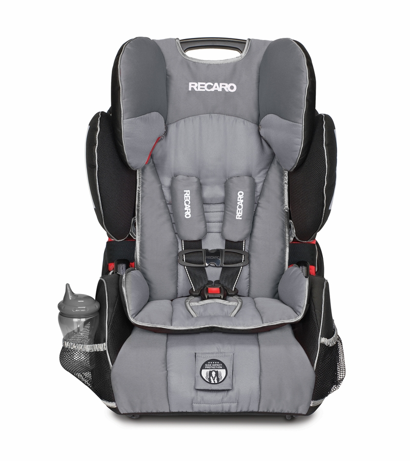 RECARO Performance SPORT Combination Harness to Booster Car Seat  Haze