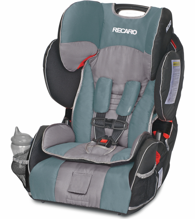 RECARO Performance SPORT Combination Harness to Booster Car Seat - Marine